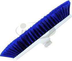 Haug Besen 28cm blau (10) Polyester weich geschlitzt