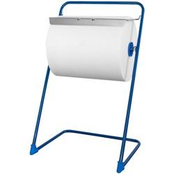 profix Bodenständer blau Industrierollenspender 850x430x510mm lackiert. Metall