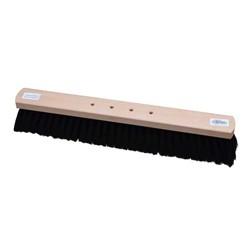 BECO Saalbesen RM 60cm Holzkörper roh, 4-Loch (10) Rosshaar-Qualitätsmischung