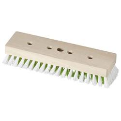 BECOnnect 1.0 Schrubber PPN weiß Holzkörper roh 23cm (10) mit Bart