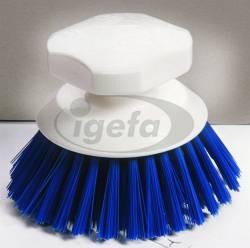 Haug Knopfbürste PP blau (5) Polyester PBT hart Kopf d=120mm