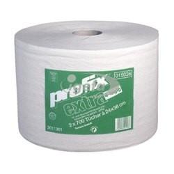 Profix extra 24x38cm 4lg Wischtuch weiß 2Rll à 700Tü perforiert