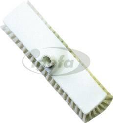 Haug Wischschrubber 30cm (10) transparent Polyester PBT hart ungeschlitzt