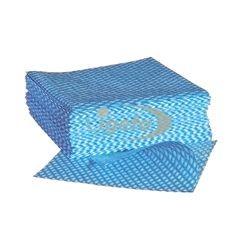 Profix Mehrzwecktuch 33x33cm Vliestuch blau/weiß 20x50Tü
