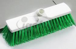 Haug Besen 30cm grün Polyester hart PHB (5) ungeschlitzt
